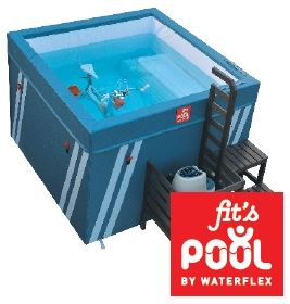 Bassin pour aquabike Fit's Pool