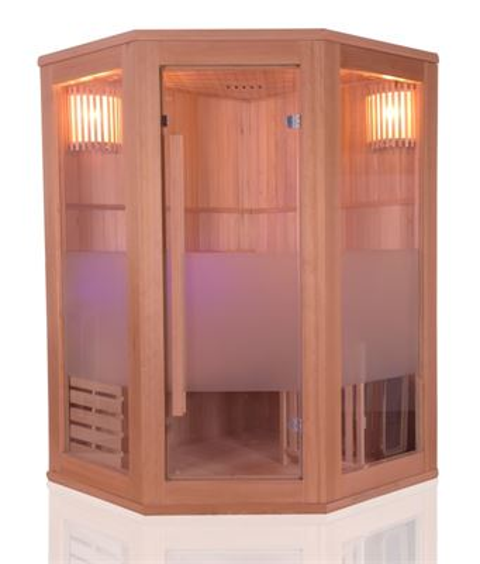 Sauna traditionnel ZEN PLUS - 2 places angulaire
