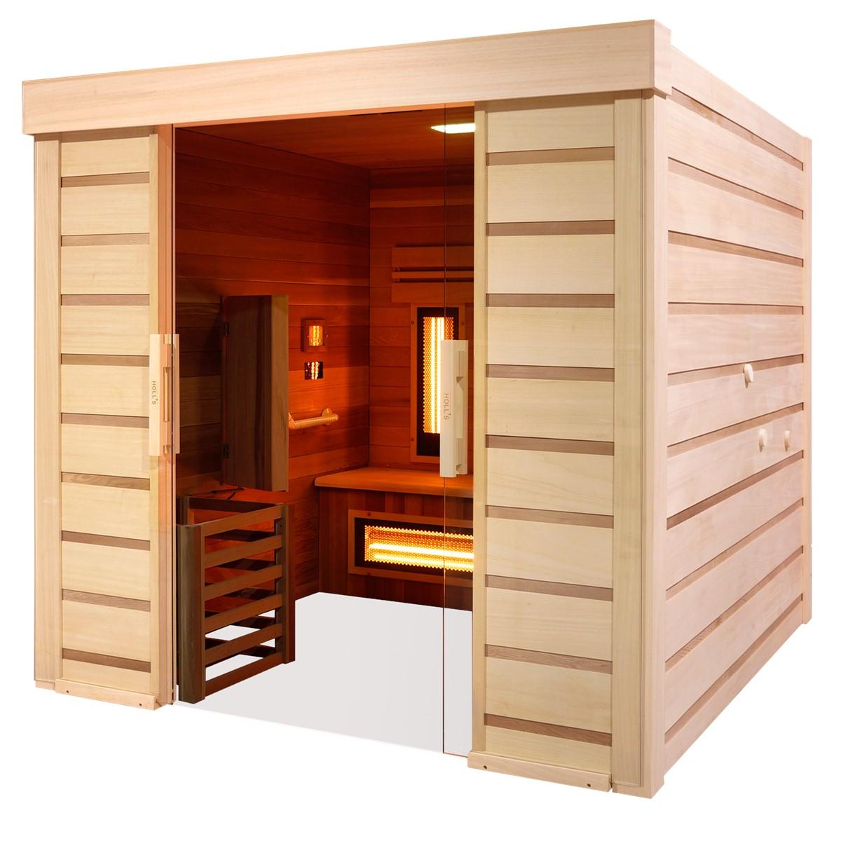 Sauna Hybride Combi Access