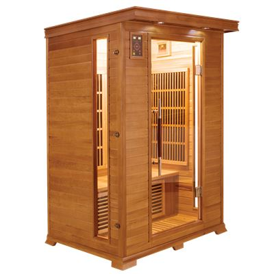 Sauna Infrarouge LUXE - 2 places