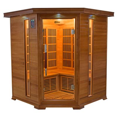 Sauna Infrarouge LUXE - 3/4 places