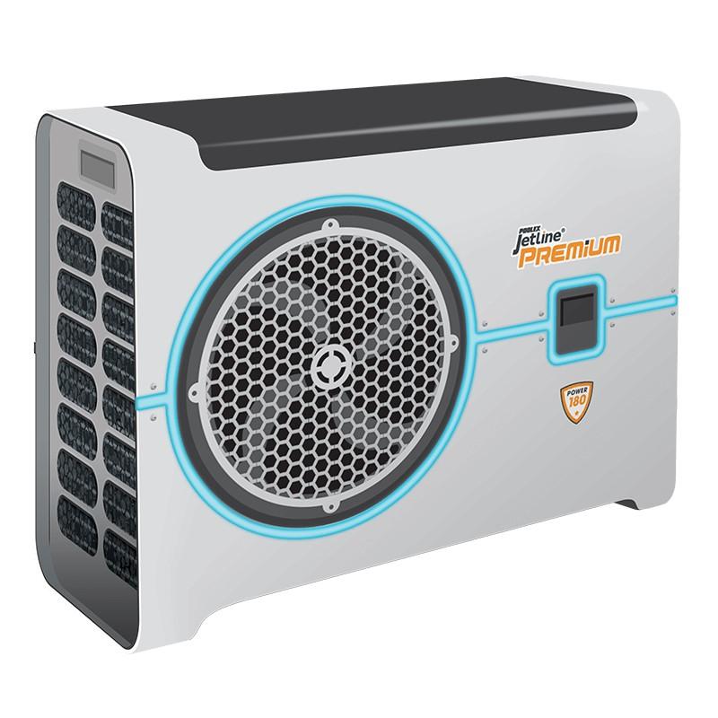 Pompe à chaleur Poolex Jetline Premium LED