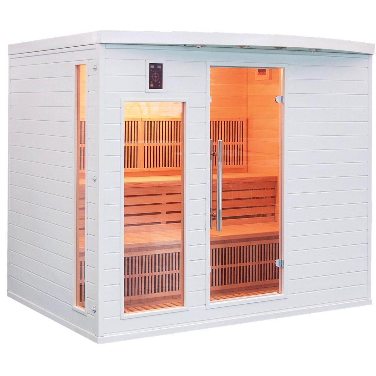 Sauna Infrarouge SOLEIL BLANC - 5 Places