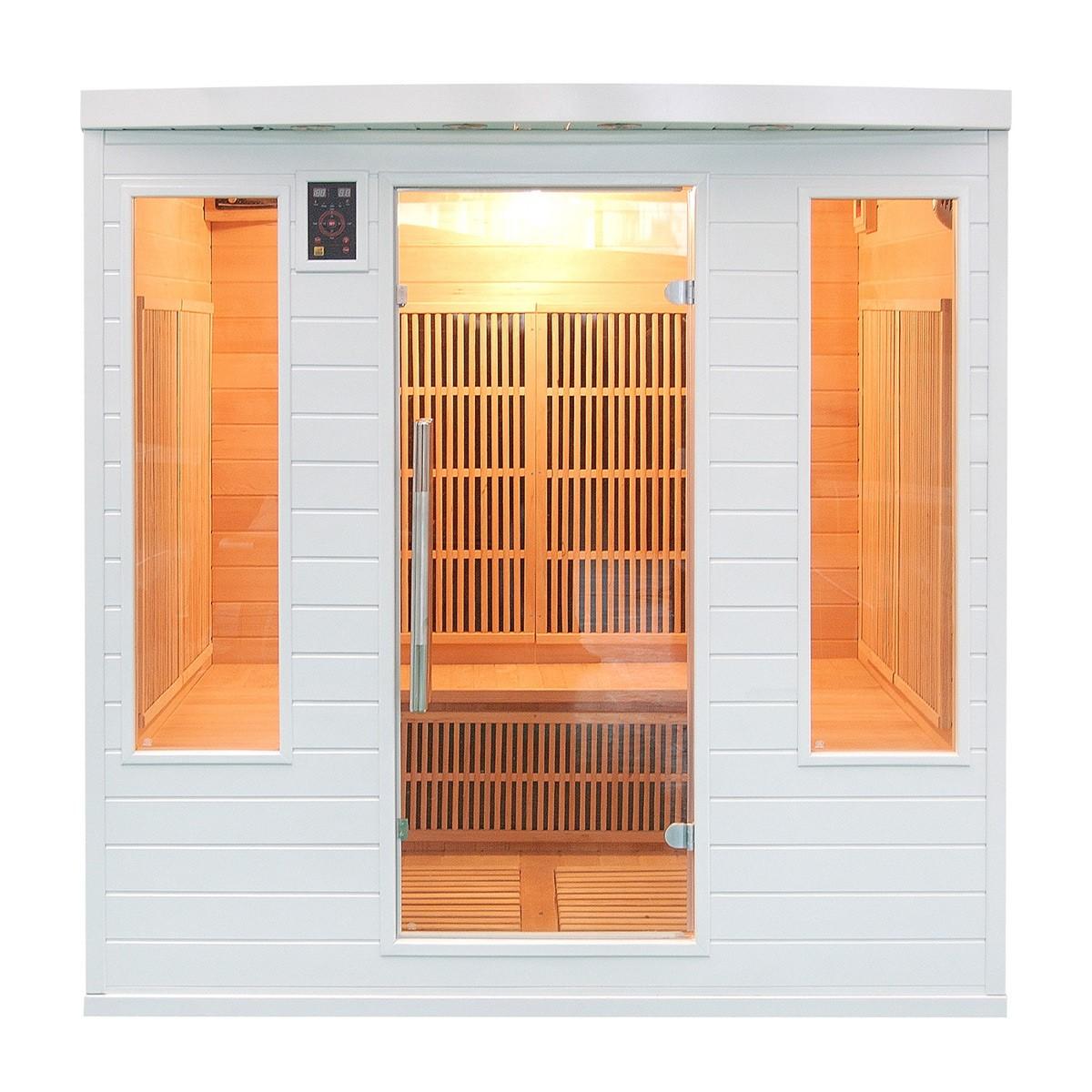 Sauna Infrarouge SOLEIL BLANC Club - 4/5 places