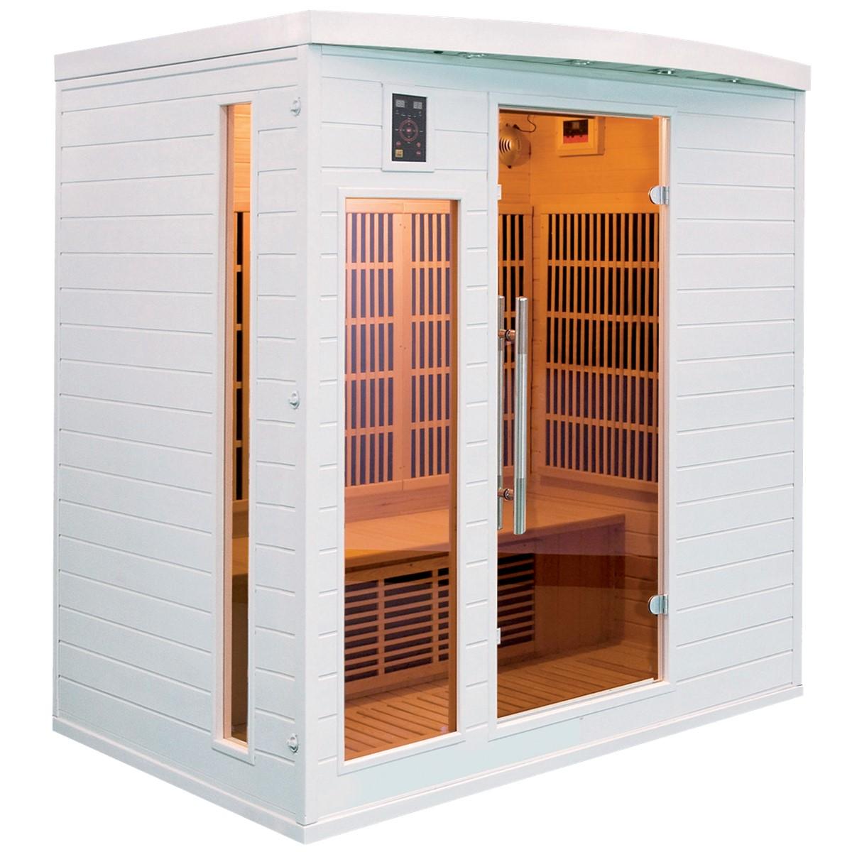 Sauna Infrarouge SOLEIL BLANC - 4 Places