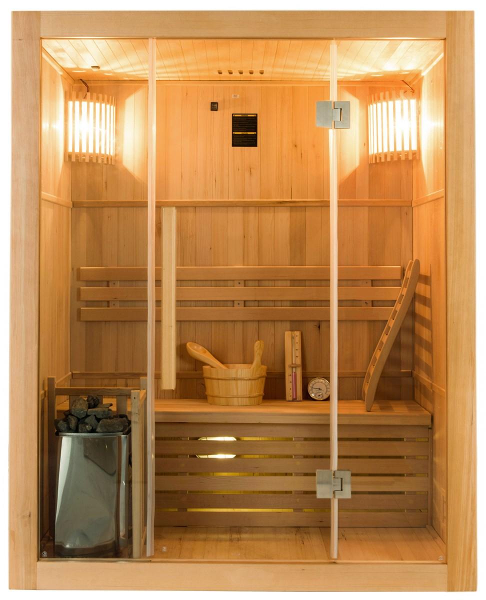 Sauna traditionnel Sense 3 places