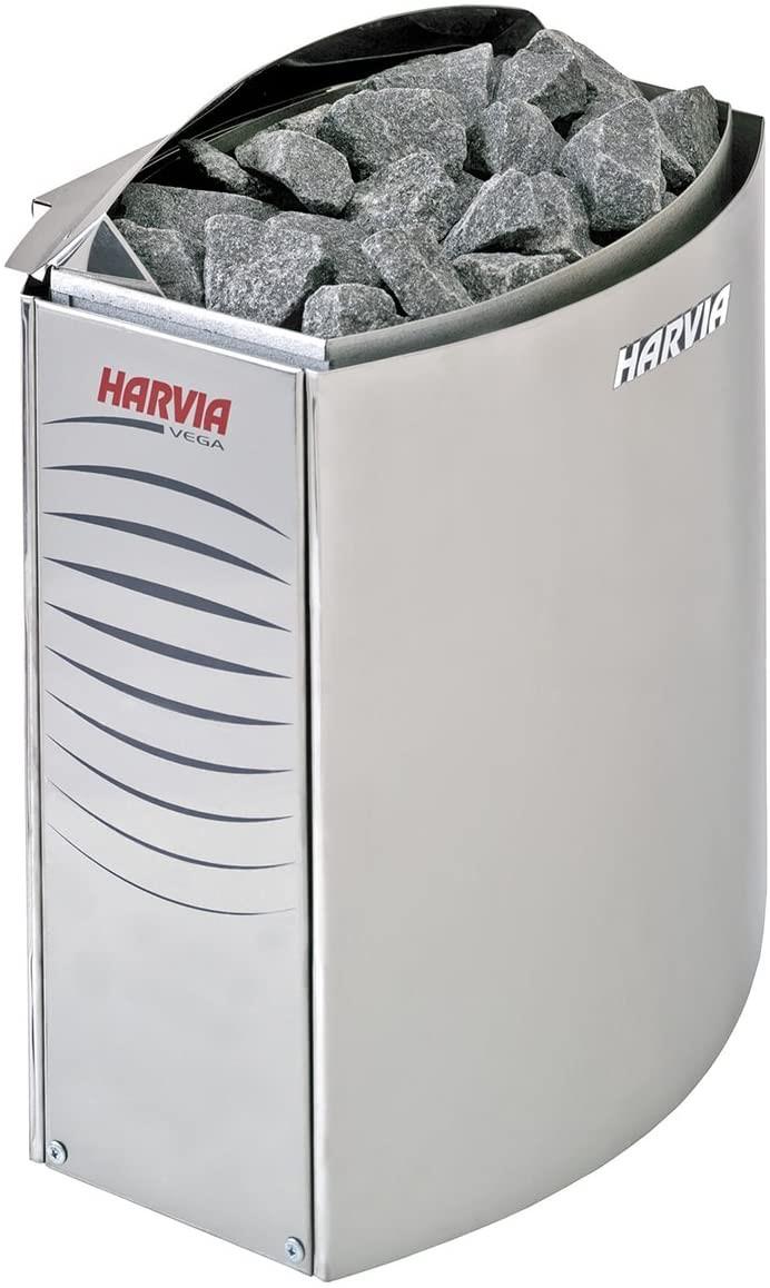 Poêle HARVIA Vega Sans unité de commande intégrée (Unité de contrôle C150 ou CS110 vendue séparément)